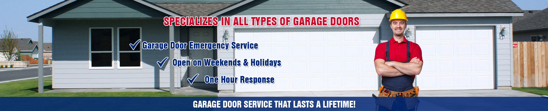 1 Garage Door Repair Company New York | NY Garage Doors